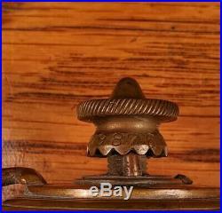 1889 Very Rare Nunn, Rochester, NY Brass Oiler