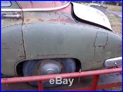 1950 chev. Military police car runs, southern body very rare with brass tag