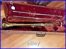 1957 Davis Shuman Jaguar Model 8 Vintage Trombone VERY VERY RARE