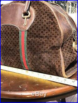 AUTH GUCCI VERY RARE SUPREME SHERRY/Ophidia LANE + COLLECTOR Item
