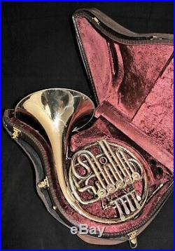 Alexander 97 French Horn in Nickel Silver Very Rare and an Amazing Player