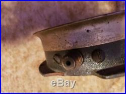 Antique MCDONOGH Coal Co. Brass/cast Steam Pressure Gauge 1906 VERY RARE 250 PSI