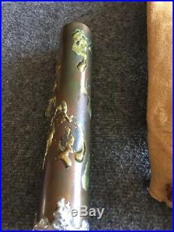 Antique / Vintage Brass Handmade Rare Kaleidoscope. Very Unique. Steampunk Style