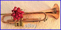 Calicchio Ultra Copper Solo 3/9-very Rare Trumpet-with Schilke Mpc- The Best