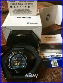 Casio G Shock GB-6900B Bluetooth watch very RARE PIECE COMPLETE