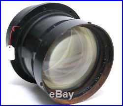 Clave Paris 400mm f/2.5 Nocton very big rare brass lens Yellow coated 1945 Y