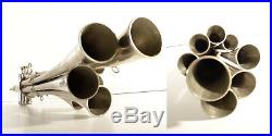 Collectible Very Rare Vintage Top 8 Pipes Fanfare Trumpet GDR Made in Germany