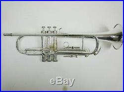Conn 8B Artist serie Trumpet from 1972 very rare/siver plated