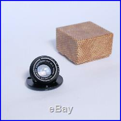 Dallmeyer Super Six Anastigmat 1 f/1.9 Cine Lens, VERY RARE, Excellent, Boxed