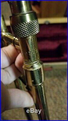 Davis Schuman Model 16 S Angular Trombone Professional Model Very Rare!
