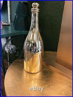 Dom Perignon Brass bottle ornament Very rare