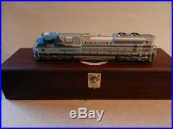 HO Overland Models OMI AA#4141-1 George Bush SD70ACE UP4141 Very Rare NIB