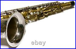 King Zephyr Silversonic Prototype Tenor VERY RARE- Sterling Bell&Neck- 1952 MINT
