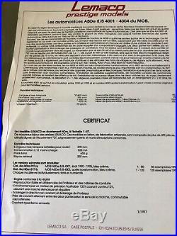 LEMACO VERYRARE MOB BRASS HOm DOPPELTRIEBWAGEN ABDe 8/8 #4003