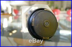 Leica M Body Cover Brass First Type For Leica M3 M2 M4 Mp Black Paint Very Rare
