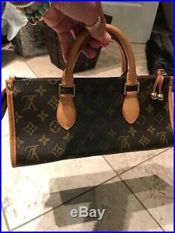 Louis Vuitton Handbag popincourt Design, AUTHENTIC, Very CuteRARE NEW