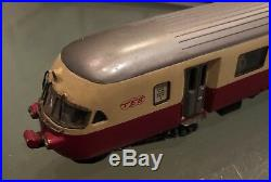 METROPOLITAN SWITZERLAND Very Rare Swiss RAe 6 Car Lighted TEE HO EMU Set