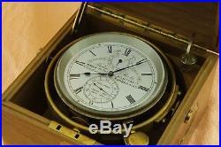Marine chronometer John Poole maker to the admiralty very rare