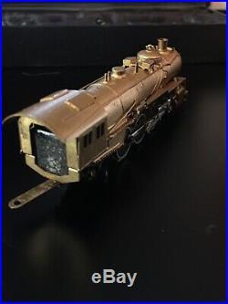N Scale Brass Steam Train 4 6 2 Jamco Ltd Very Rare In Original Box