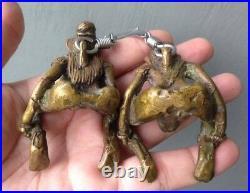 Pairs Thai Amulet Magic Love charm Lucky Rich Powerful Very rare