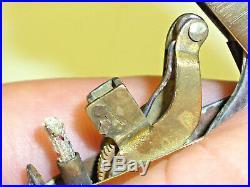 Perfecto Semi-automatic Imperator Brass Petrol Wick Lighter Briquet -very Rare