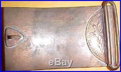 Pirelli Motor Sports Brass Belt Buckle NR0058 SCARCE Very Rare