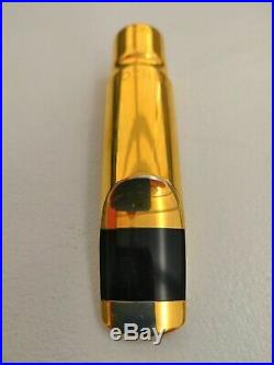 Ponzol Alto 100 m2 metal (brass) saxophone mouthpiece very rare