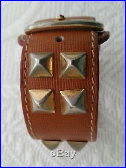Prada leather bracelet very rare vintage piece