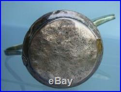 RARE very old NIZWA 29cm Antique copper brass Dallah islamic Coffee Pot Bedouin