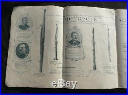 Rare Old Couesnon Paris Catalog Very Interesting! Printed Around 1900