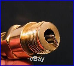 Rare vintage Antique 1920s Brass Visible Spark Elk Spark Plug Very Nice