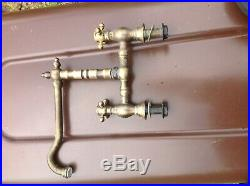 Solid brass Antique Kitchen mixer Taps Very Rare old vintage