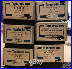 Tenshodo HO Scale Brass Canadian Pacific lighted Passenger car set very rare