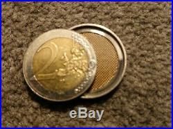 VERY RARE, COPPER SILVER BRASS CSB MAGIC COIN SET IN UK/EURO COINS (2p, 10p, 2)