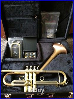 VERY RARE Carol Brass Trumpet Dizzy Signature Model Perfect Screamer or Jazz