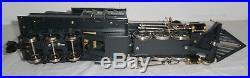 VERY RARE Delton Brass Hovey & McCracken Mason Bogey 2-6-6T G Scale Steam Engine