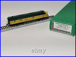 VERY RARE! Overland Models Brass N Scale C&NW (Chicago&North Western) E7A #5018A