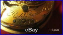 VERY RARE SERIAL #1 Verge Pocket Watch by Rob Tweedy of LONDON