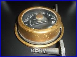 VERY RARE Vintage DANFORTH Constellation CAPTAINS TELLTALE Nautical Ship Compass