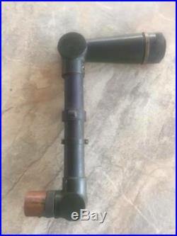 VERY RARE WWII Military Tank Periscope Telescope M60 AID Optic Brass Binocular