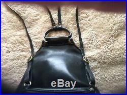 VINTAGE LEATHER GHURKA Backpack Marley Hodgson No. 138 VERY RARE