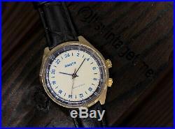 VTG RAKETA Antarctic 24 hours VERY Rare Mechanical Men's Wristwatch polar 2623H