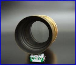 Very RARE! C. F. Usener Petzval Portrait Brass Lens 300mm F4 wet plate 8x10