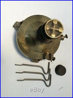 Very Rare 1920s Coleman Brass Solus Stove