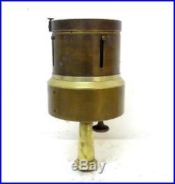 Very Rare Antique Big Size Brass Pantometer Surveyor Instrument With Compass