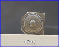 Very Rare Antique Edward Preston Coachmakers Square adjustable 8 brass steel