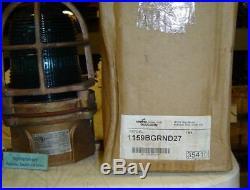 Very Rare Antique Nautical Lamp US MADE (Paulhun)