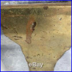Very Rare David Marshall Brutalist Disenos Spain Cast Brass & Aluminum Planter