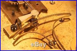 Very Rare French BOURDON & RICHARD Barometer Clock No 539 c1882