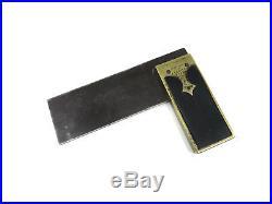 Very Rare Marples Patent Ebony & Brass Square
